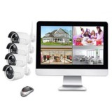 Wireless LCD NVR & Camera Kit K9604E-PA3013-W