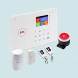 Smart Home Wireless/GSM Alarm System – G66W