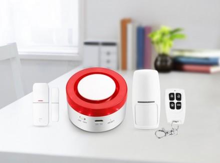 Wireless Alarm System  Easy Installation